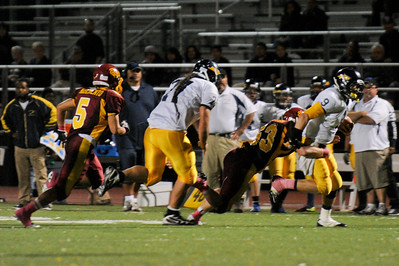 Menlo Atherton High School Varsity Football vs.Jefferson High School 2011-10-21