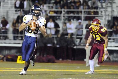 Menlo Atherton Bears Varsity vs.King's Academy Knights 2010-10-07