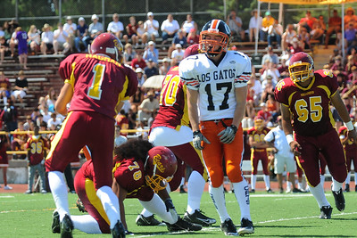 Menlo Atherton Bears Varsity vs. Los Gatos Wildcats 2010-09-11