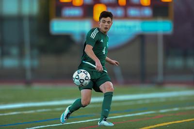 Menlo-Atherton Boys Soccer defeated Palo Alto High,  February 22, 2017.
