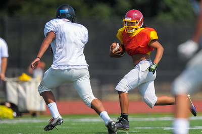 Menlo-Atherton Freshman Football Scrimmage against Terra Nova High School.