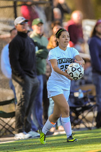Menlo-Atherton Girl's Soccer Powered over  Palo Alto High, 3-Nill,  February 25, 2017.