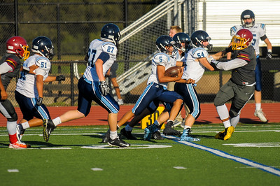 Bellarmine College Prep JV Football vs. M-A Bears.