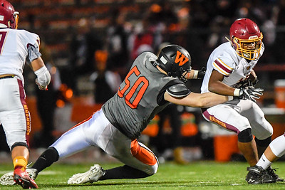 M-A Bears Varsity Football vs. Woodside High.