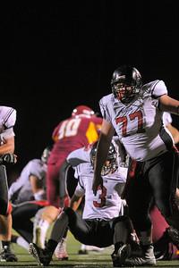 Menlo-Atherton Varsity Football vs. Aragon High School 2015-10-16