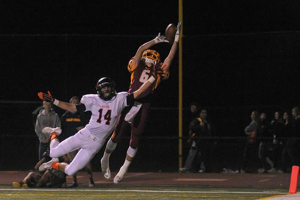 M-A Varsity Football vs. Woodside High, 2014-11-14