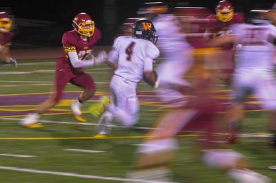Menlo Atherton Varsity Football vs. Woodside High, 2014-11-14