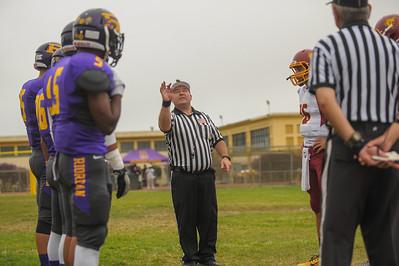 Menlo Atherton Varsity Football vs. Archbishop Riordan High School, 2014-09-20