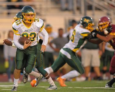 Monterey High School Football vs. Menlo Atherton High School 2015-09-25