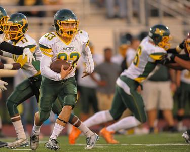 Monterey High School vs. Menlo Atherton Football 2015-09-25