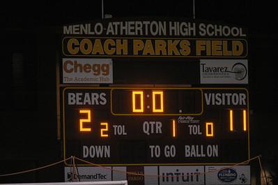 Menlo-Atherton High School Boys Varsity  Lacrosse vs. Monte Vista Mustang, March 11, 2014