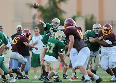 Moreau Catholic High School Football Scrimmage, August 26, 2011