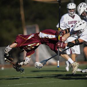 Menlo Atherton High School Varsity Boys Lacrosse vs. Sacred Heart Prep, 2014-03-18