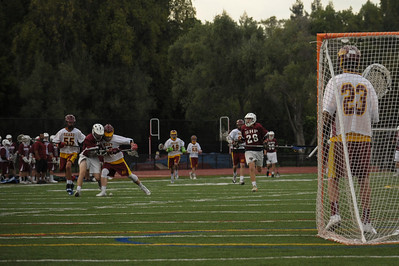 Menlo-Atherton High School Boys Frosh Soph Lacrosse vs. Sacred Heart Prep, April 10, 2014