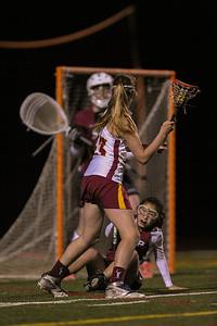 Menlo-Atherton High School Girls Varsity  Lacrosse vs. Sacred Heart Prep, April 03, 2014