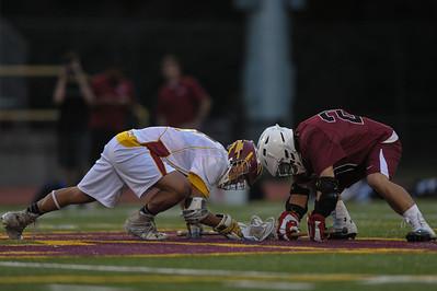 Menlo-Atherton High School Boys Varsity  Lacrosse vs. Sacred Heart Prep, April 10, 2014