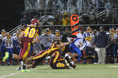 Menlo Atherton High School Varsity Football vs.Santa Clara 2011-11-18