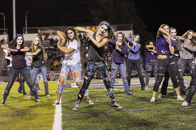Sequoia Dance Team at Homecoming 2013-10-25