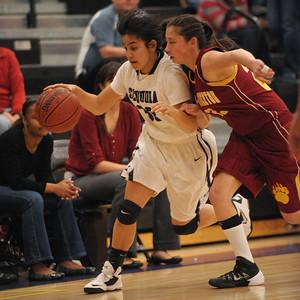 Sequoia Girl's Varsity Basketball vs. M-A High 2014-01-31