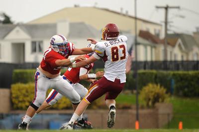 Menlo Atherton High  Bears Varsity Football vs. St. Ignatius College Preparatory 2012-09-15