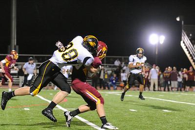 Menlo Atherton Varsity Football Vs. Terra Nova High School, 2012-11-02