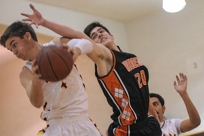 Woodside Boy's  vs. M-A Varsity Basketball