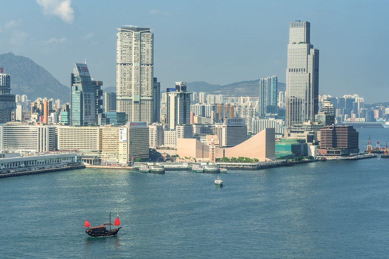 Hong Kong Harbor & Kowloon