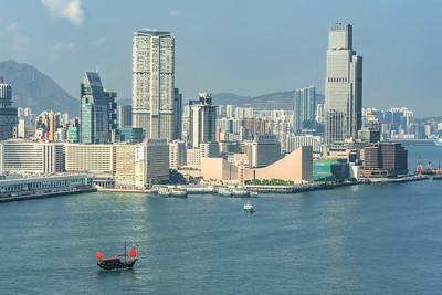 Hong Kong Harbor & Kowloon