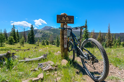 The Monarch Crest Trail