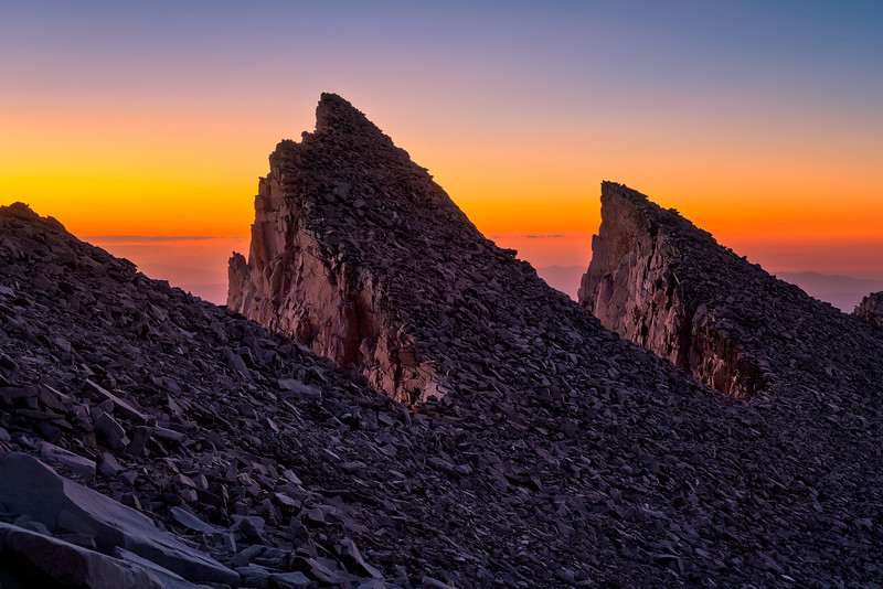 Keeler Needles, Mt Whitney
