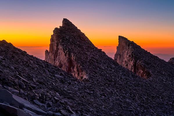 Keeler Needles, Mt Whitney