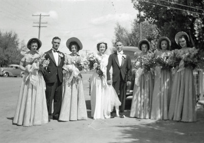 Frank Domenico and Edith Proietti Wedding: The Wedding Party