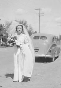 Frank Domenico and Edith Proietti Wedding: The Bride