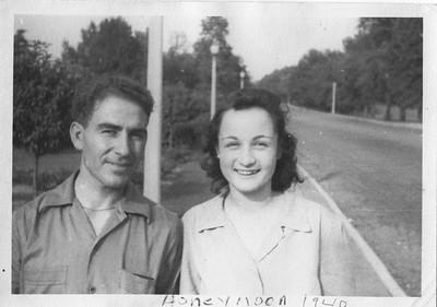 Frank Domenico and Edith Proietti Wedding: Honeymoon in Chatanooga
