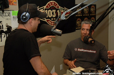Complete Control Radio with Joe Sib on Indie 103.1 Guest: Pro Skateboarder - Steve Alba  April 13, 2006