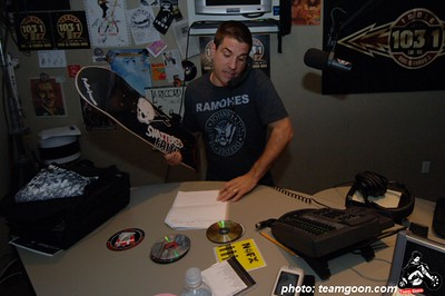 Complete Control Radio with Joe Sib on Indie 103.1 Giving away a Shattered Faith skate deck  April 20, 2006