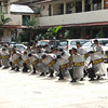 Police drill at the Jayapura Regency Police Station, Indonesia. Credit: New Zealand Ministry of Foreign Affairs and Trade