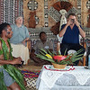 Former New Zealand Minister of Foreign Affairs, Phil Goff, drinks kava at an official ceremony in Fiji, 2003. Credit: New Zealand Ministry of Foreign Affairs and Trade