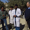New Zealand officials with doctors from the Bamyan Provincial Hospital, Afghanistan. Credit New Zealand Ministry of Foreign Affairs and Trade