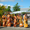Welcoming party perform during the Prime Minister's trip to Samoa, 2012. Credit: New Zealand Ministry of Foreign Affairs and Trade
