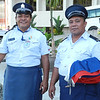 Police Officers on duty in Samoa during the Prime Minister's trip 2012. Credit: New Zealand Ministry of Foreign Affairs and Trade