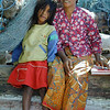Mother and daughter - fishing nets in background, Indonesia. Credit: New Zealand Ministry of Foreign Affairs and Trade