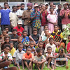 Crowds at the opening of the Save the Children funded Maternity Ward (East Sepik Women and Children's Health Project), Papua New Guinea. Credit: New Zealand Ministry of Foreign Affairs and Trade