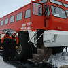 Local transport. Prime Minister John Key's visit to Antarctica, Jan 2013. Credit New Zealand Ministry of Foreign Affairs and Trade