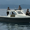 Police boat escort, Indonesia. Credit: New Zealand Ministry of Foreign Affairs and Trade