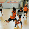 Indoor football at the Paita Arena, Pacific Mission 2012, Noumea, New Caledonia, Thursday, July 26, 2012. Credit:SNPA / Ross Setford