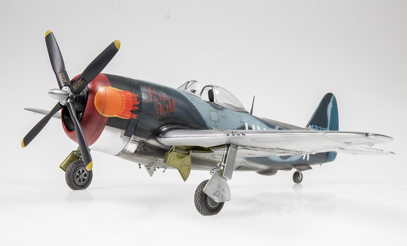 "1/48 Tamiya P-47M Thunderbolt - ""Fire Ball"""