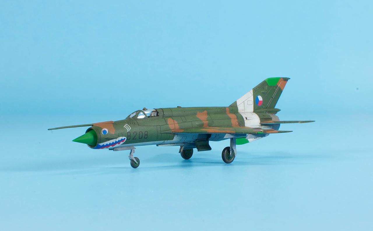 1/144 Eduard MiG-21MF - Czech Air Force