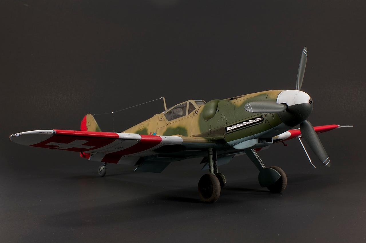 1/32 Hasegawa Bf 109G-14 as Swiss G-6