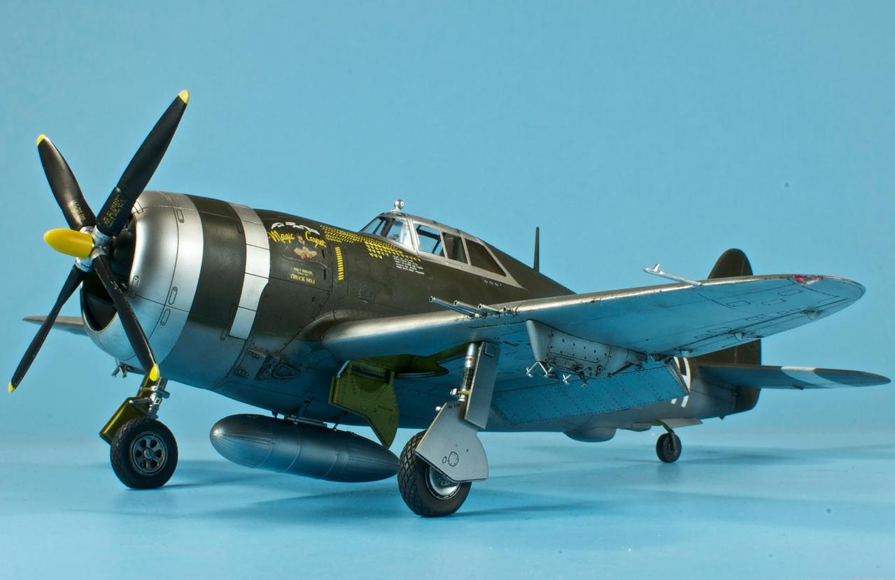"""1/48 Tamiya P-47D-20 Thunderbolt - """"Magic Carpet"""""""